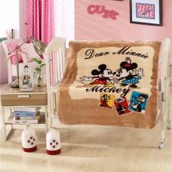 欧邦毯业 童毯100x130cm三角针毛毯迪士尼