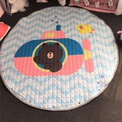 美乐迪家纺 新款收纳地垫潜水艇布朗熊