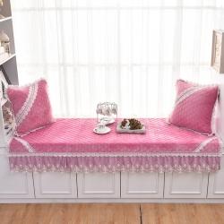共鸣沙发垫 2019新款飘窗垫-短毛绒系列短毛绒粉色