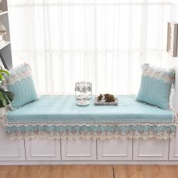 共鸣沙发垫 2019新款飘窗垫-水洗棉系列水洗棉蓝绿