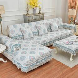 共鸣沙发垫 2019新款慕羽沙发垫慕羽蓝