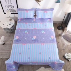 (总)羽爱家纺  2108新品全棉床盖三件套
