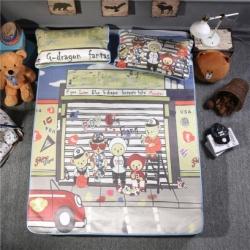宜丝柔家纺 150D印花款(大版)凉席卡通系列熊宝BOYS