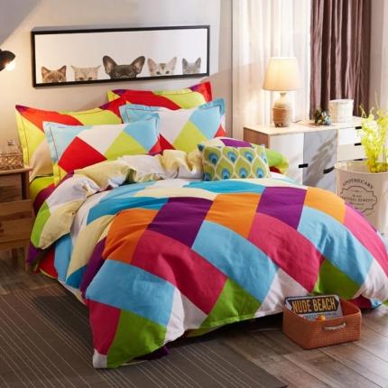 鸿悦家纺 植物羊绒120克多规格四件套 维尔鲁