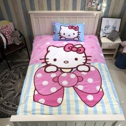 最初家纺 全棉13372小号三件套大版kitty