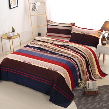 海洋空间 36个法莱绒毛毯【有同款被套法莱绒四件套】