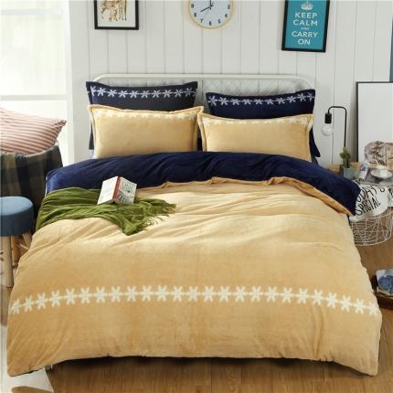 44个法莱绒四件套床单款所有花色床笠款可定做