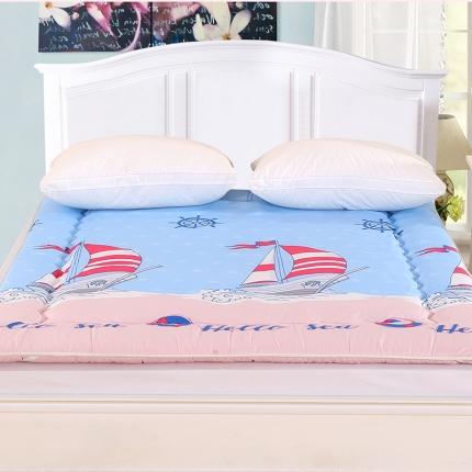 (总)锦诺家纺 磨毛衍缝床垫
