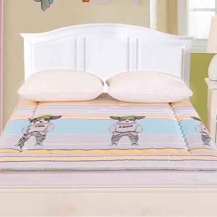 锦诺家纺 磨毛衍缝床垫查尔斯