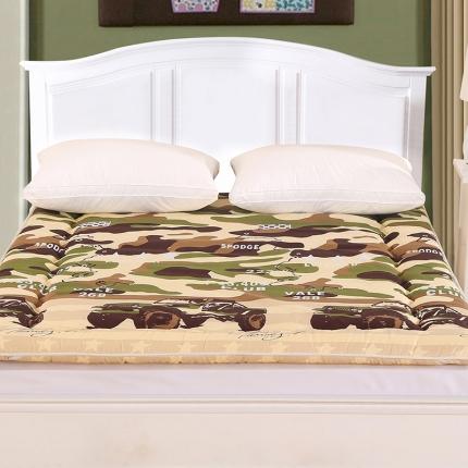 锦诺家纺 磨毛衍缝床垫吉普情怀