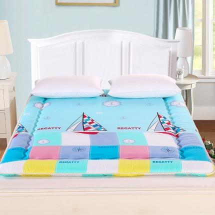 锦诺家纺 磨毛衍缝床垫航海日记