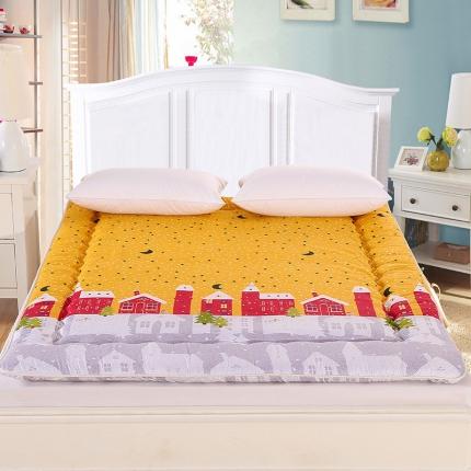 锦诺家纺 磨毛衍缝床垫摇篮曲