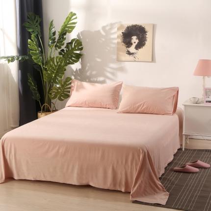 (总)初舍家纺 天鹅绒单品床单
