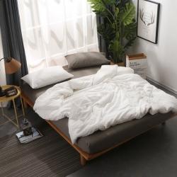 (总)初舍家纺 自由纯色混搭四件套床单款