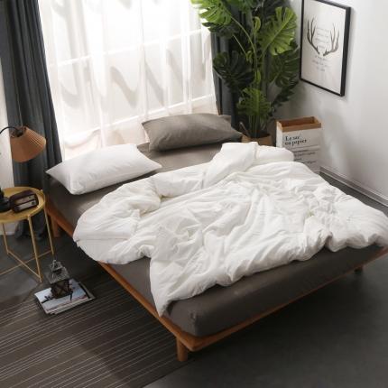 (总)初舍家纺 自由纯色混搭四件套床笠款
