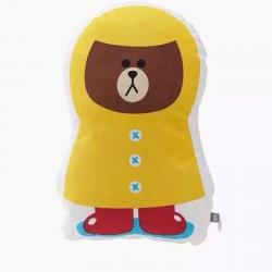 子钦家纺 卡通抱枕可爱熊