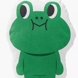 子钦家纺 卡通抱枕青蛙