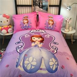 (总)凯歌家纺 迪士尼磨毛系列四件套床单款