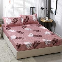 (总)佳斯登家纺 新品芦荟棉单品床笠和三件套