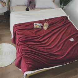 (總)沐源 2019新款被套式云貂絨貝貝絨毯子