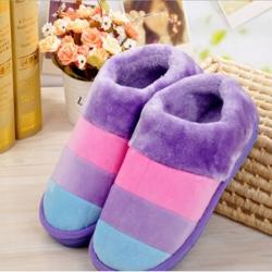 雅泰家紡 2019新款冬季保暖鞋 紫色