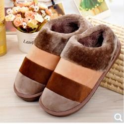 雅泰家紡 2019新款冬季保暖鞋 咖啡色