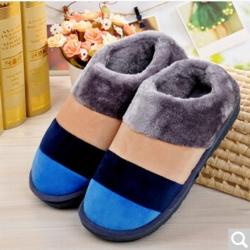雅泰家紡 2019新款冬季保暖鞋 藍色