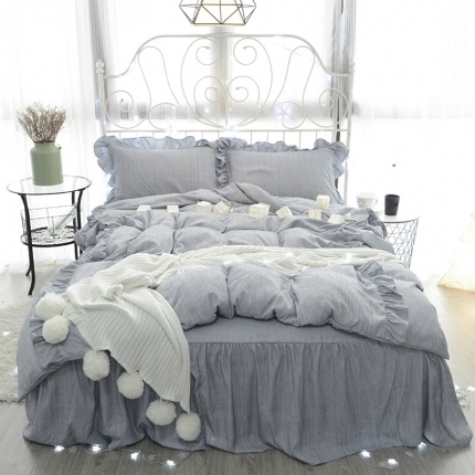 (总)798家纺 色织床裙工艺款