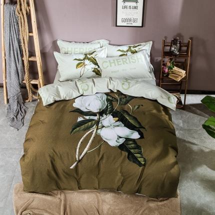 798家纺 简美花卉时尚系列四件套尤兰达