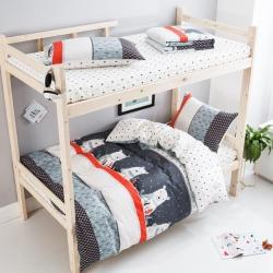 (总)798家纺 2018新品高低床小号三件套  冬季物语