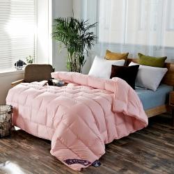 富旺家纺 多维空间立体羽绒被 浅粉色