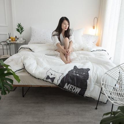 (总)纯品家纺 纯棉北欧刺绣系列被子