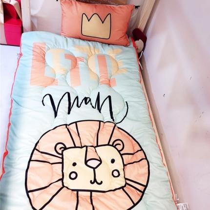 卜古家纺 儿童软床垫 小狮子