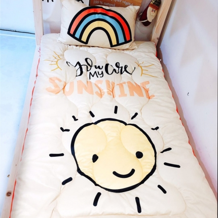 卜古家纺 儿童软床垫 小太阳