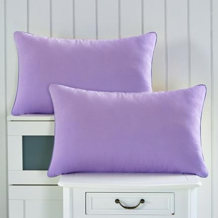 兴煌枕业 彩色的青春舒适安神枕 浅紫色