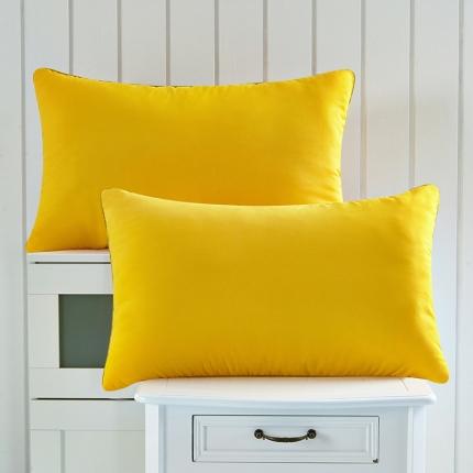 兴煌枕业 彩色的青春舒适安神枕 黄色