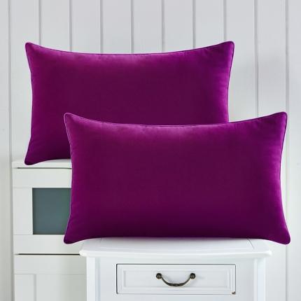 兴煌枕业 彩色的青春舒适安神枕 深紫色