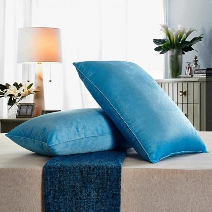 兴煌枕业 水晶绒 舒适枕青春版海蓝