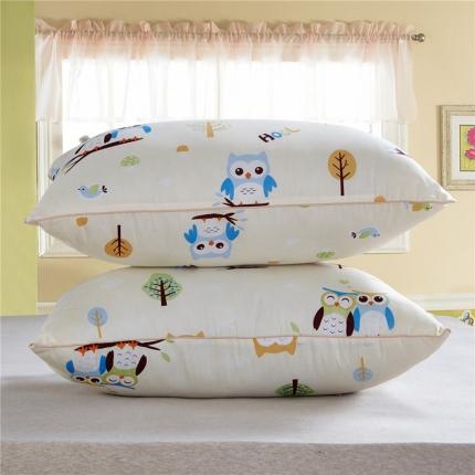 兴煌枕业 普通印花2 天生一对-米色