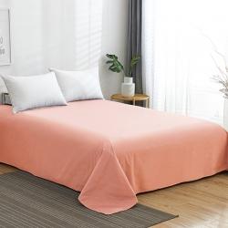 (总)欣喜来 2019新款40s简约全棉纯色单品床单