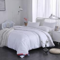 (总)寝香居 宽幅全棉素色羽丝冬被
