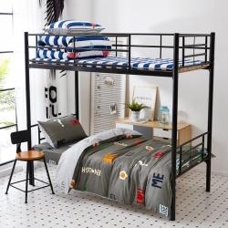 九平道家纺 学生三件套床单款0.8m-1.2m床通用 半夏