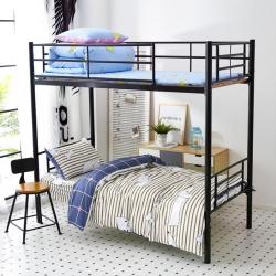 九平道家纺学生三件套床单款0.8m-1.2m床通用可爱的骨头