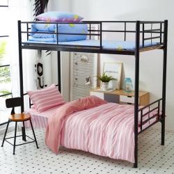 九平道家纺 学生三件套床单款0.8m-1.2m床通用时尚家居