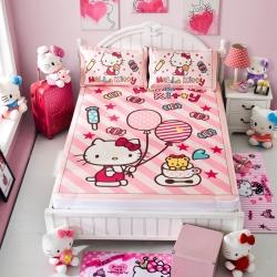 安睡宝 迪士尼KT猫系列凉席冰丝席童话故事