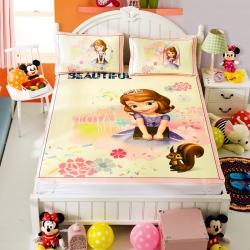 安睡宝 迪士尼米奇系列凉席冰丝席长发公主