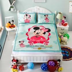 安睡宝 迪士尼米奇系列凉席冰丝席照相馆