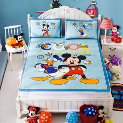 安睡宝 迪士尼米奇系列凉席冰丝席周游世界
