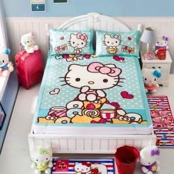 安睡宝 迪士尼KT猫系列凉席冰丝席美食诱惑