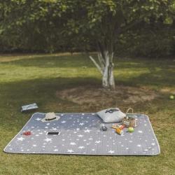 昔可家纺 野餐垫地垫爬爬垫chic韩风系星星